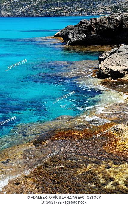 Beach, Formentera, Balearic, Islands, Spain