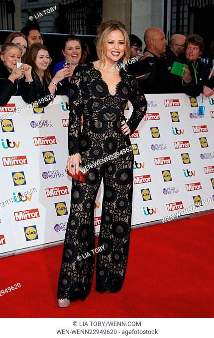 The Daily Mirror Pride of Britain Awards 2015 held at Grosvenor House Hotel Featuring: Kimberley Walsh Where: London, United Kingdom When: 28 Sep 2015 Credit:...