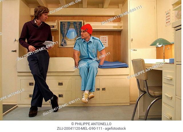 Nov 20, 2004; Rome, Lazio, ITALY; Director WES ANDERSON with actor OWEN WILSON on the set of the adventure comedy/drama 'The Life Aquatic with Steve Zissou'...