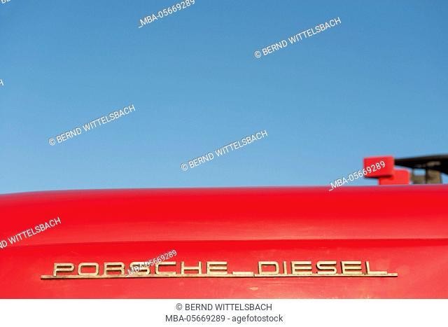 Breuberg, Hessen, Germany, Porsche Diesel Junior109, year of manufacture 1962 15 HP, cubic capacity 875, total weight 875 kg