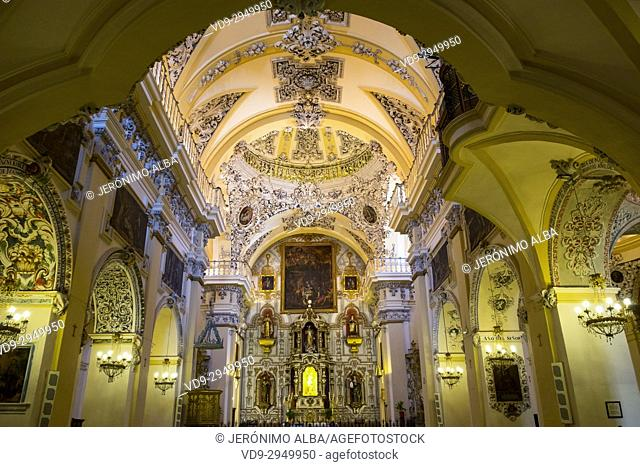 Convent Monastery Church of Belen, Antequera. Málaga province, Andalusia. Southern Spain Europe