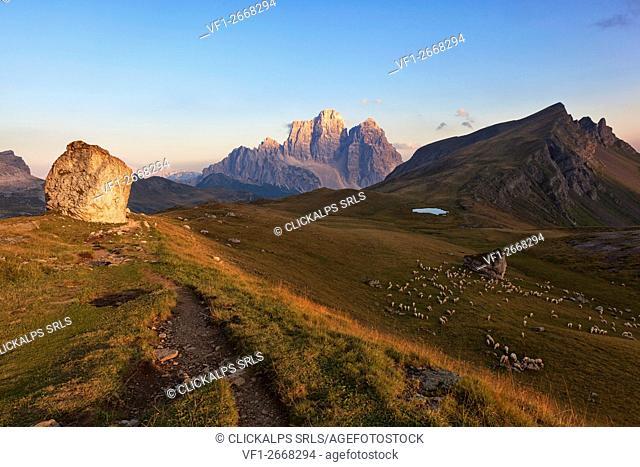 Mondeval, Dolomites, San Vito di Cadore, Belluno, Veneto, Italy