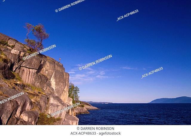 Stillwater Bluffs, south of Powell River, Sunshine Coast, Vancouver, Coast and Mountains region, British Columbia, Canada