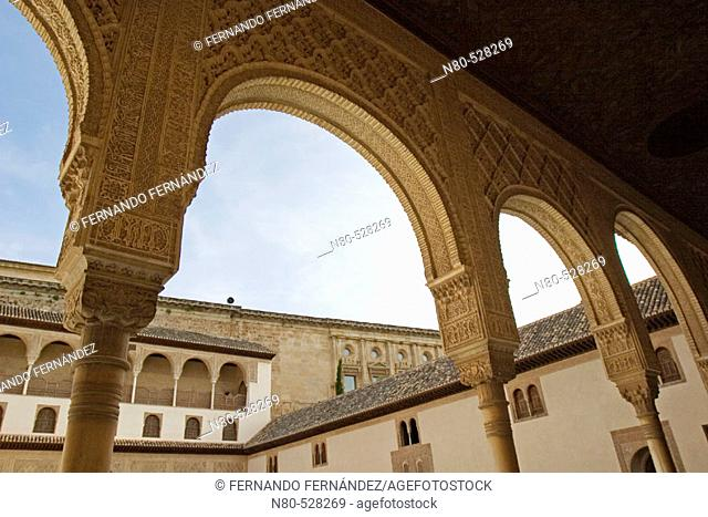 Palacios Nazaríes. Alhambra, Granada. Andalusia, Spain