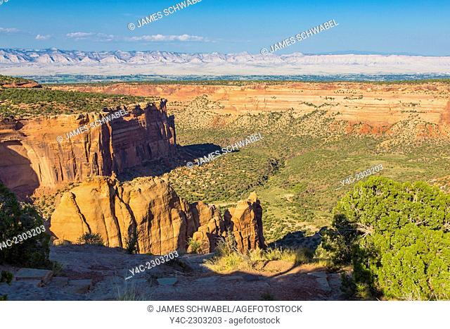 Colorado National Monument near Grand Junction, Colorado