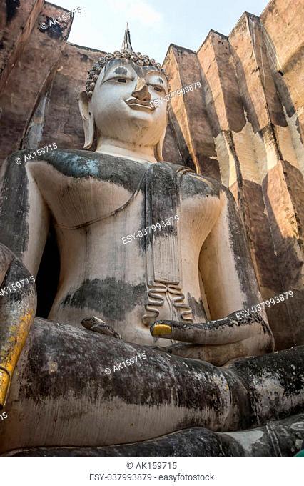 Buddha Wat Si Chum Sukhothai, Thailand