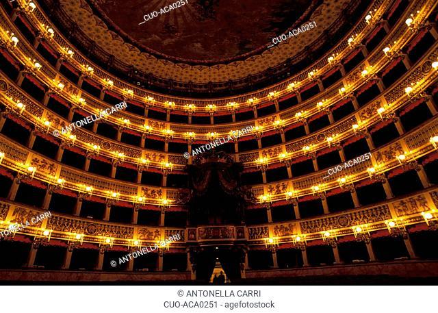 Teatro San Carlo, Naples, Campania, Italy