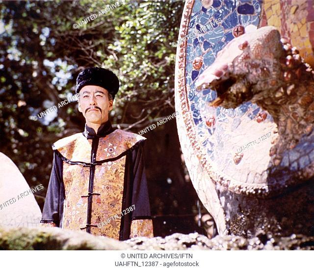 The Castle Of Fu Manchu, aka: Die Folterkammer des Dr. Fu Manchu, Deutschland/Spanien/Italien 1968, Regie: Jess Franco, Darsteller: Christopher Lee