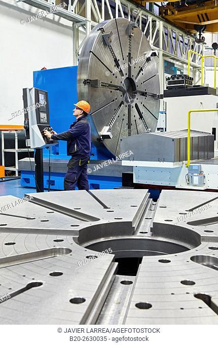 Horizontal turn mill lathe. Machining Center. CNC. Design, manufacture and installation of machine tools. Bost Machine Tools Company. Asteasu