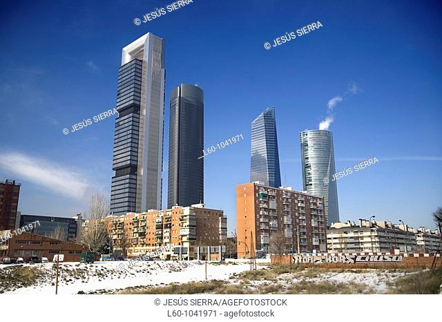 Four Towers, CTBA, Business Area, Madrid, Spain