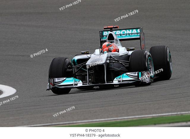 Michael Schumacher GER, Turkish Grand Prix, Istanbul, Turkey