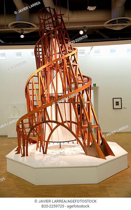 Maquette du Monument à la Troisime Internationale,1919. Vladimir Tatline. Centre George Pompidou. Musee National d'Art Moderne. Paris. France