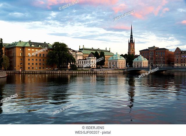 Sweden, Stockholm, Riddarholmen