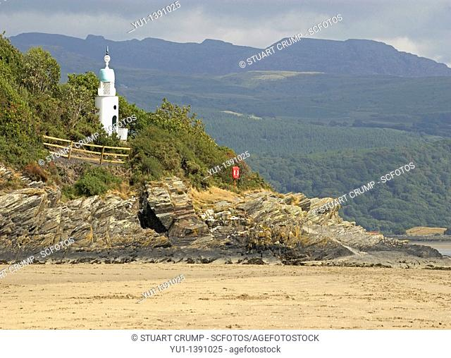 The Lighthouse at Portmeirion Village, Gwynedd, Wales, United Kingdom