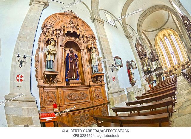 Paris Church of Santiago en San Francisco, 13-14th Century, Viveiro, Lugo, Galicia, Spain, Europe