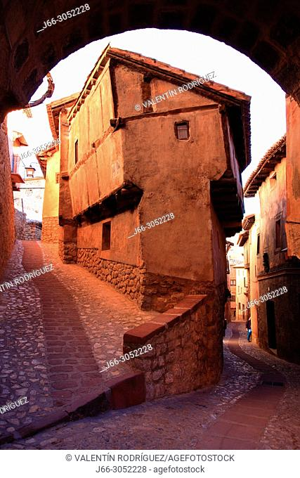 Street in Albarracín. Teruel