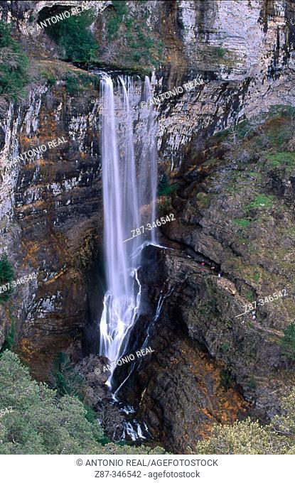 Source of the River Mundo. Riopar. Albacete province. Spain