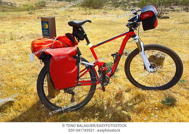 Camino de Santiago by bicycle Saint James way of Levante