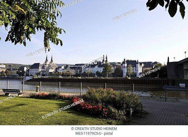 Germany, Rhineland-Palatinate, View over Koblenz