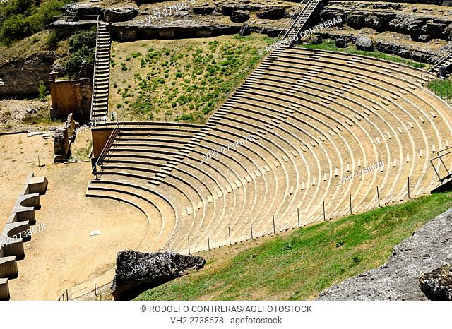 Clunia Roman ruins, Burgos