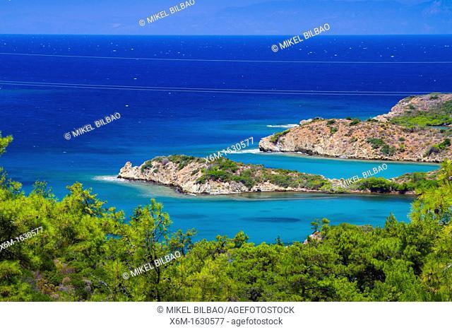 Coastline  Datca peninsula, Mugla province, Anatolia, Turkey