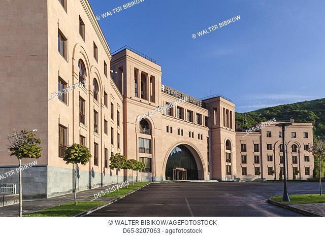 Armenia, Jermuk, mineral water resort town, Hyatt Place Hotel, exterior