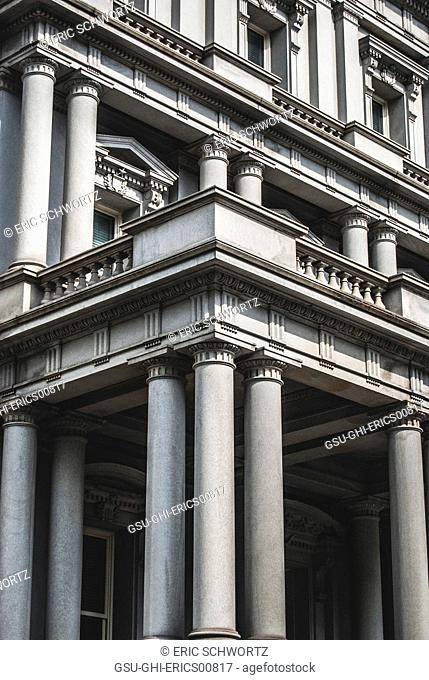 Government Building with Columns, Washington DC