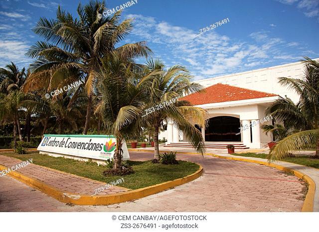 Centro de Convenciones- in town center, Isla Mujeres, Cancun, Quintana Roo, Yucatan Peninsula, Mexico, Central America