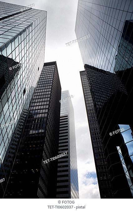USA, New York City, Manhattan skyscrapers