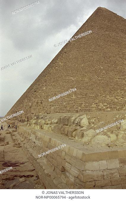 King Cheops pyramid at Giza in Cairo
