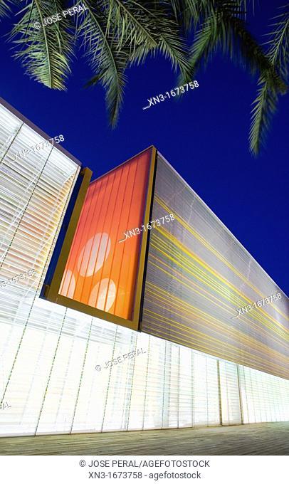 Auditorium and Conference Centre The Batel, Auditorio y Palacio de Congresos El Batel, Cartagena, Murcia region, Spain