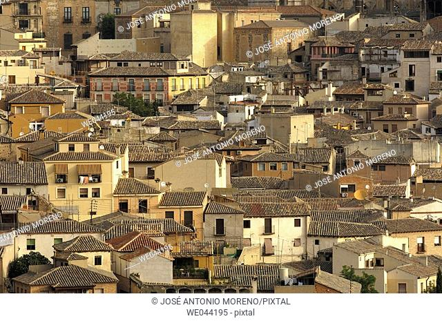 Old town views. Toledo. Castilla la Mancha, Spain