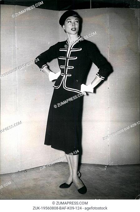 Sale Date. Auction Closed. Coco Chanel, Paris, 1958.