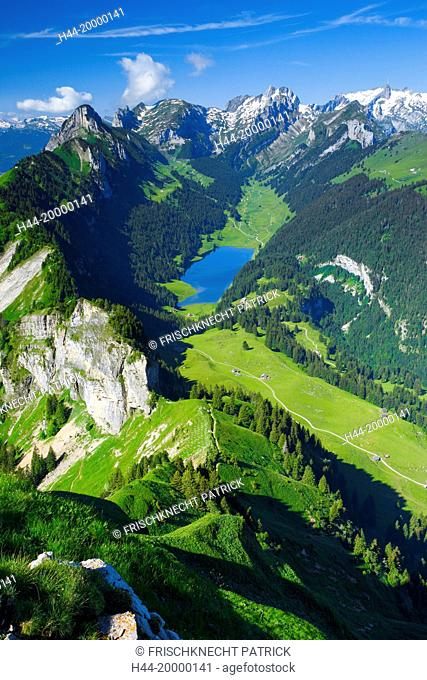 view from Hoher Kasten, Appenzell