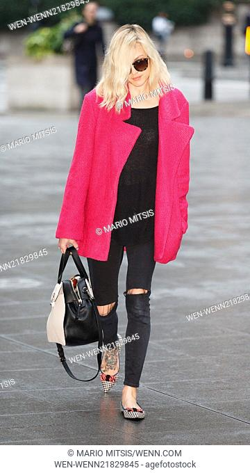 Fearne Cotton arriving at the BBC Radio 1 studios Featuring: Fearne Cotton Where: London, United Kingdom When: 15 Oct 2014 Credit: Mario Mitsis/WENN