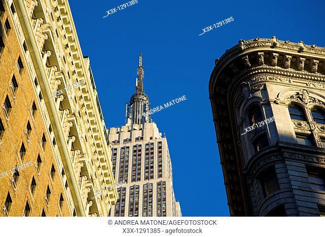 The Empire State Building skyline Manhattan New York City USA