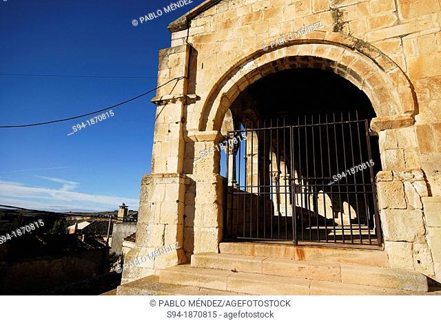 Church of El Salvador in Sepulveda, Segovia, Spain