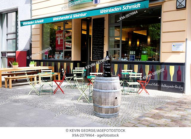 Weinladen Schmidt Wine Bar, Prenzlauer Berg Neighbourhood, Berlin, Germany
