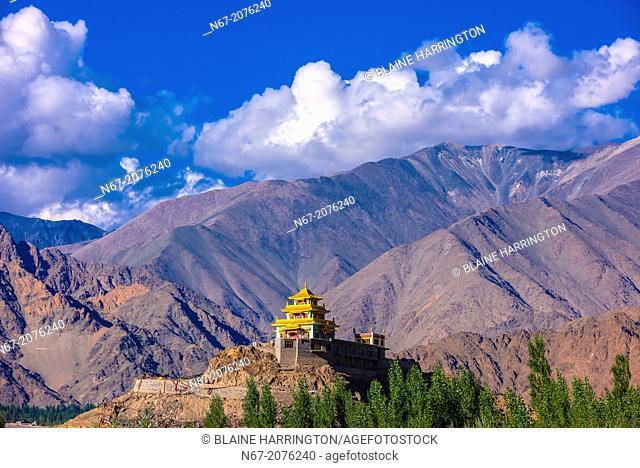 The Zangdok Pelri Temple, Leh Valley, Ladakh, Jammu and Kashmir State, India