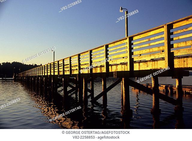 Pier, Waterfront Park, Allyn, Washington