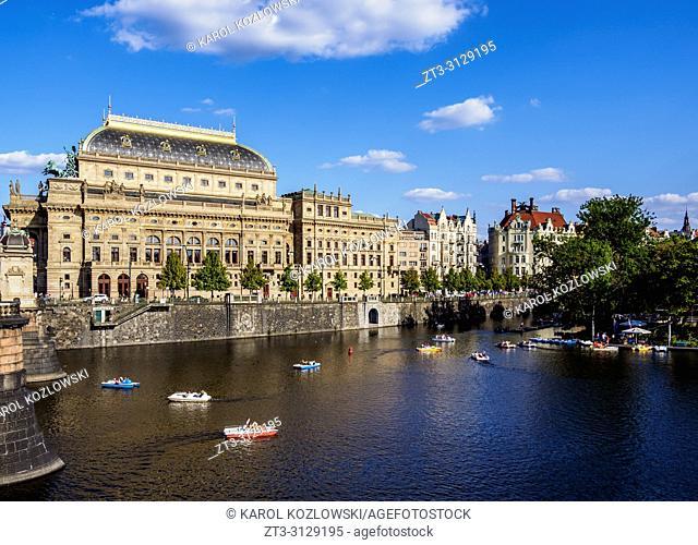 National Theatre, Prague, Bohemia Region, Czech Republic
