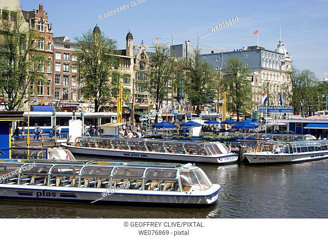 Damrak, Amsterdam. Holland