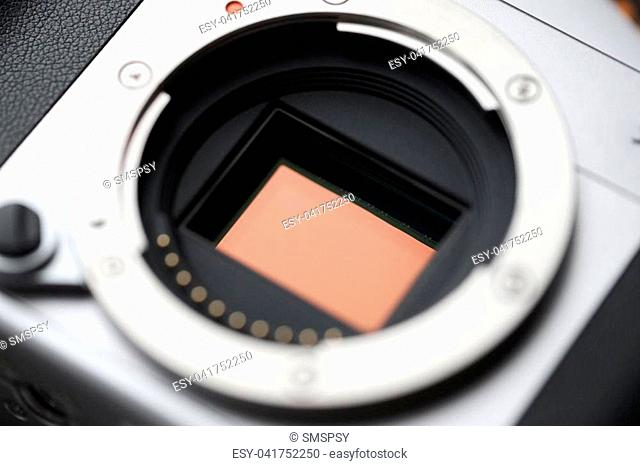 Professional Digital Camera APS-C Sensor and lens mount. Macro, close-up