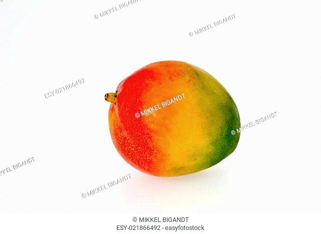 Colorful Whole Mango Fruit