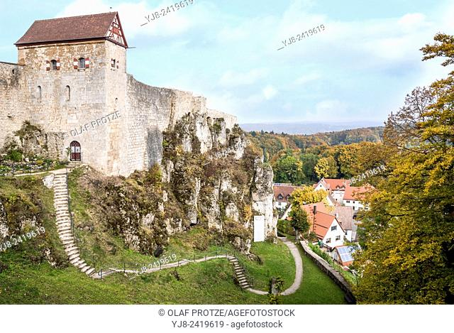 Castle Hohenstein the German state of Bavaria, Germany