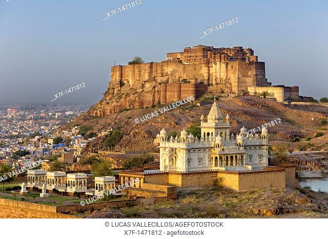 Mehrangarh Fort and Jaswant Thada,Jodhpur, Rajasthan, India