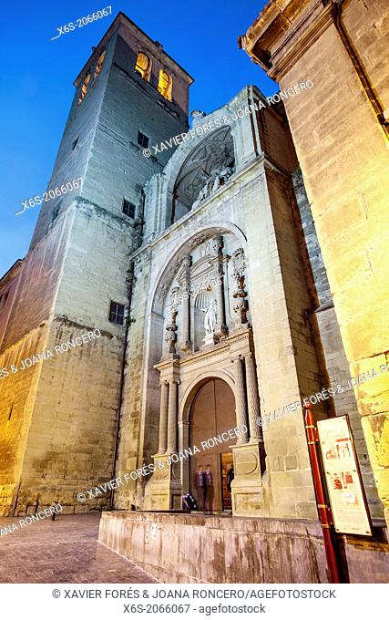St. James way, Church of Santiago El Real at Logroño, La Rioja, Spain