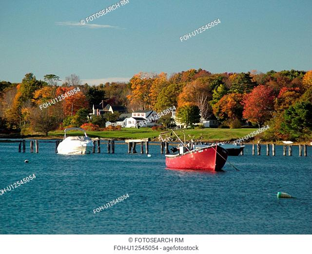 York Cliffs, ME, Maine, Cape Neddick Harbor