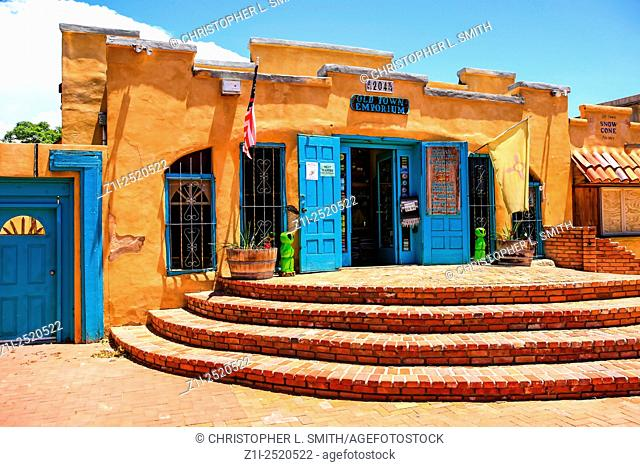 The Old Town Emporium store on Old Town Road in Albuquerque, New Mexico