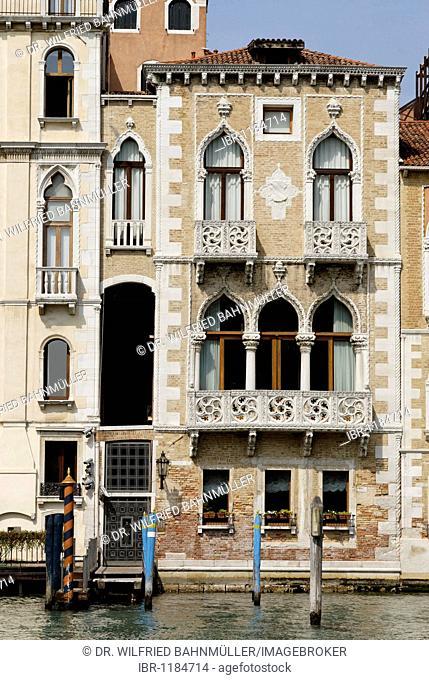 Palazzo Contarini Fasan, Canale Grande, Venice, Venezia, Italy, Europe
